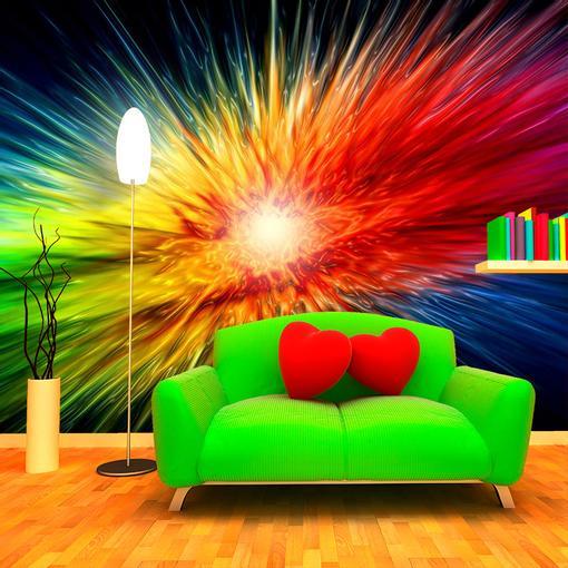Barevná exploze