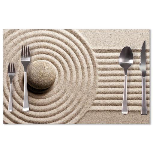 Otisk v písku