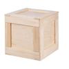 Dřevěné bedny s páčidlem
