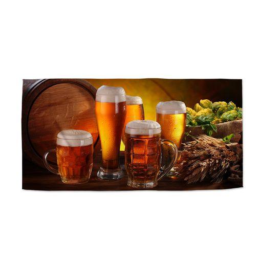 Sklenice s pivem