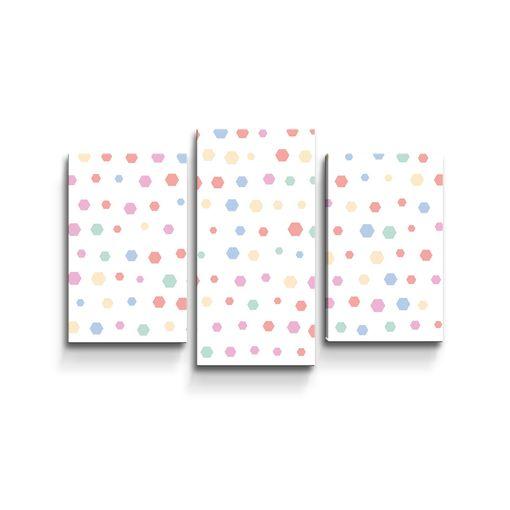 Různě barevné puntíky