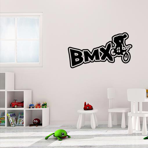 nápis BMX