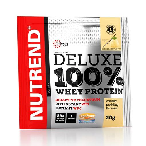 Deluxe 100% WHEY - bílkoviny vanilka