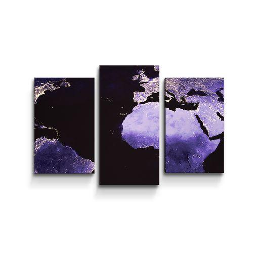 Světelná mapa světa