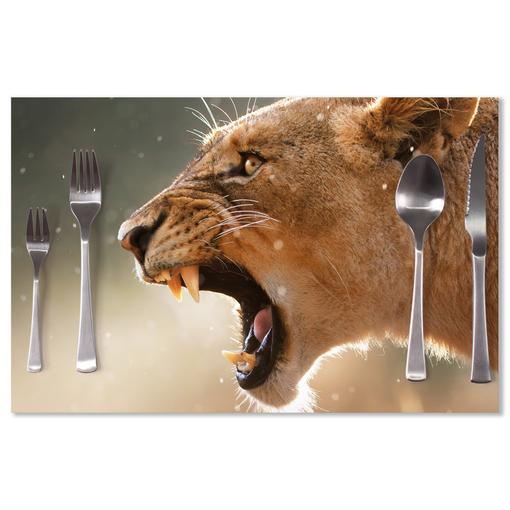 Rozzuřená lvice