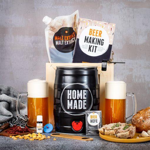 Dárková bedna s domácím pivovarem