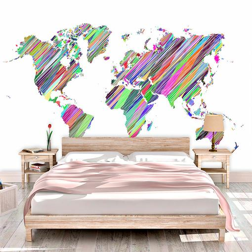 Barevné světadíly