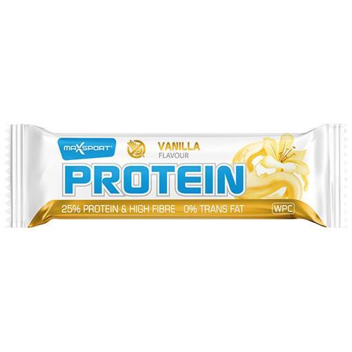 Maxsport Proteinová tyčinka vanilka