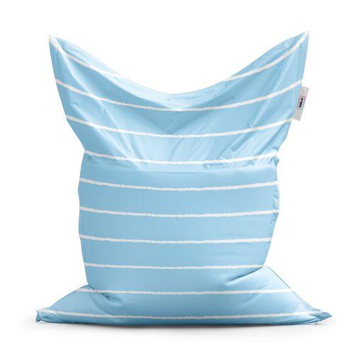 Bílé linky na modré