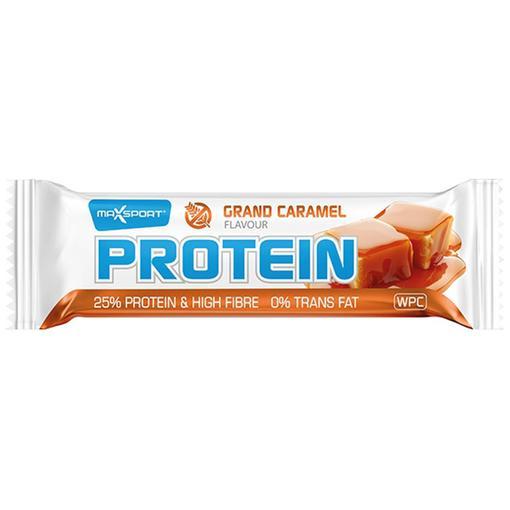 Maxsport Proteinová tyčinka caramel