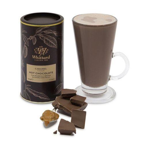 Horká čokoláda s karamelem