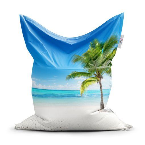 Palma na pláži