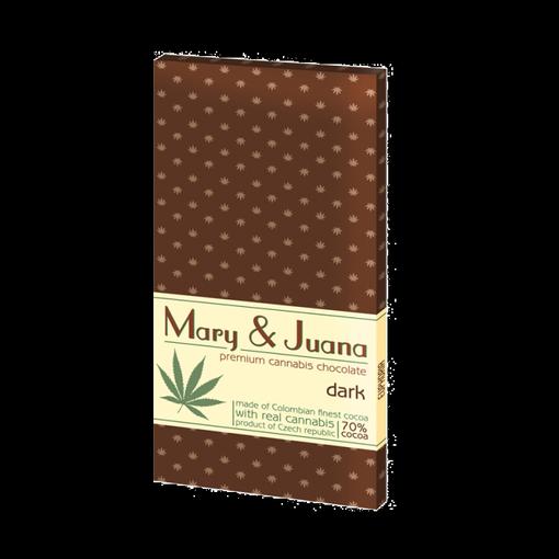 Cannabis čokoláda - tmavá
