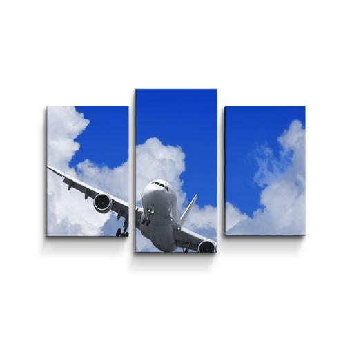 Letadlo při přistání