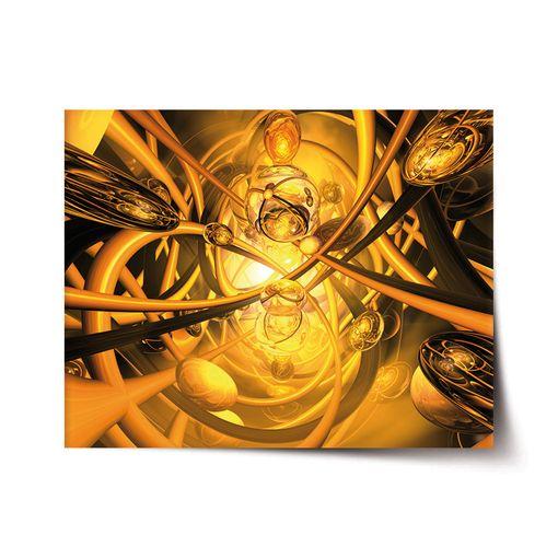 Žlutá abstrakce