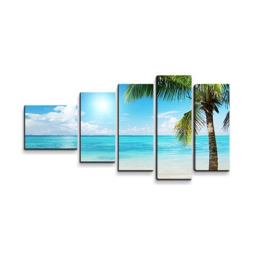 Pláž s palmami