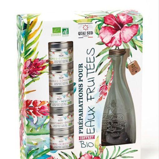 Box pro přípravu bio organické ovocné vody