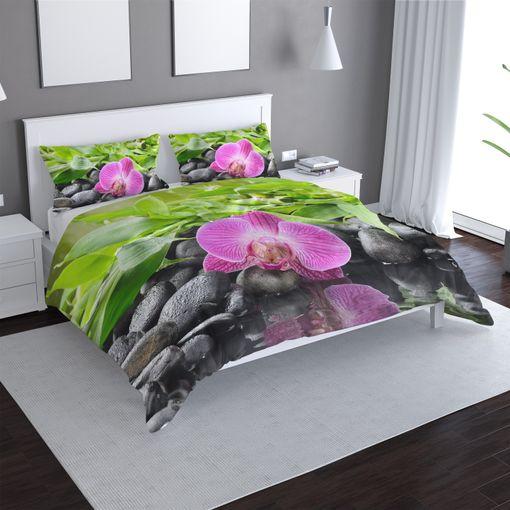 Růžová orchidej