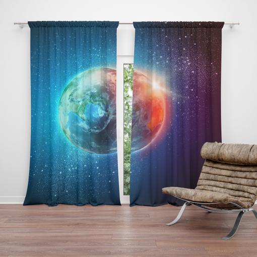 Země ve vesmíru