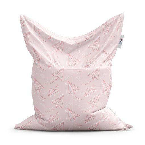 Růžové papírové vlaštovky