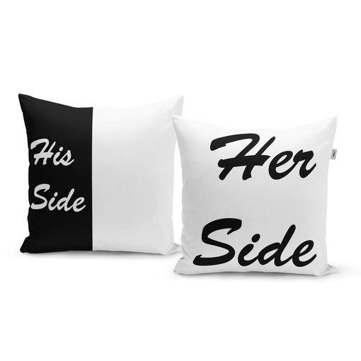 Jeho strana a její strana