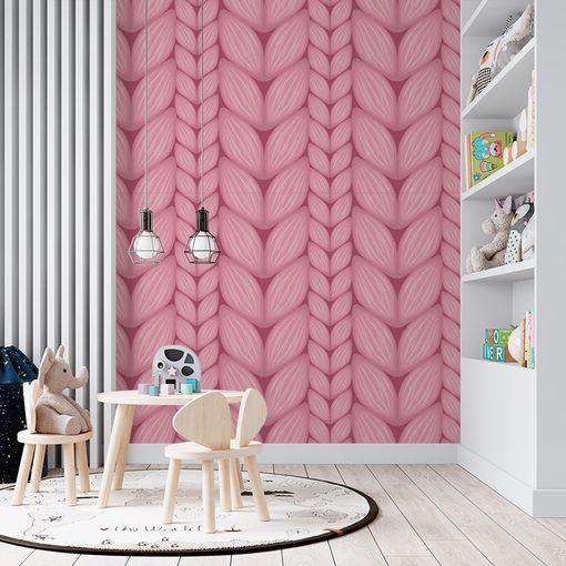 Růžové pletení
