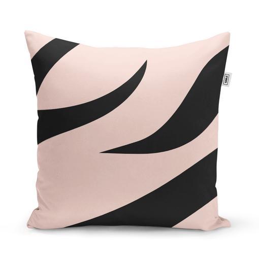 Růžový vzor zebry
