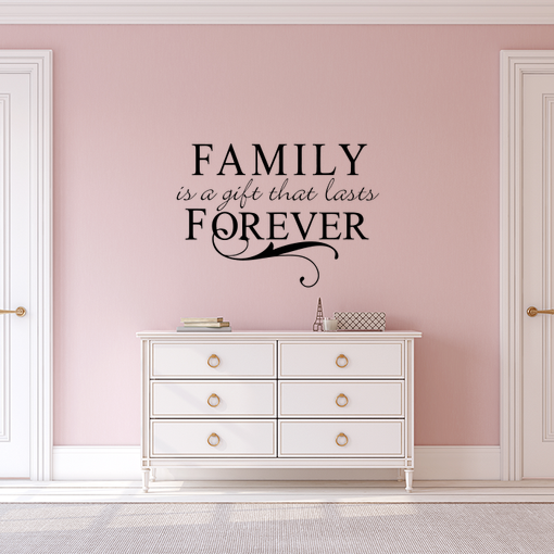 nápis Family