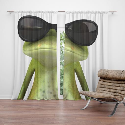 Žába v brýlích