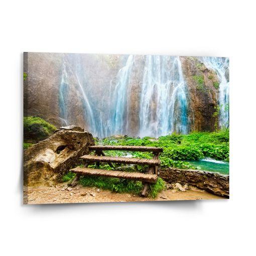 Posezení u vodopádu