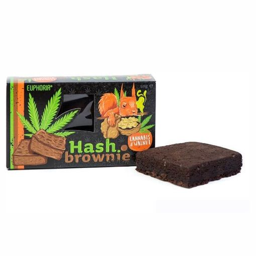 Hash Brownie Cannabis & Walnut
